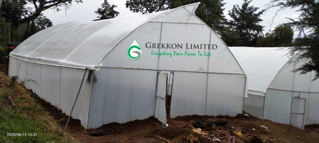 Nectarine greenhouse cover
